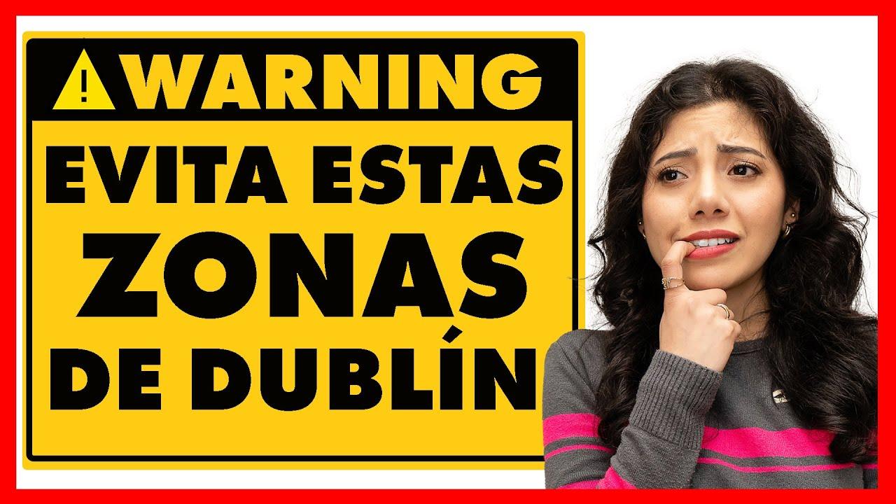 Las ZONAS más PELIGROSAS de Dublín⚠️ |Itzi en Dublin te da sus tips!🚨