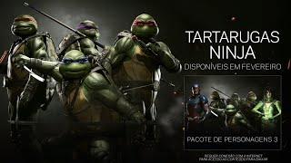 Injustice 2: TARTARUGAS NINJA - Trailer de Lançamento (Legendado PT-BR)