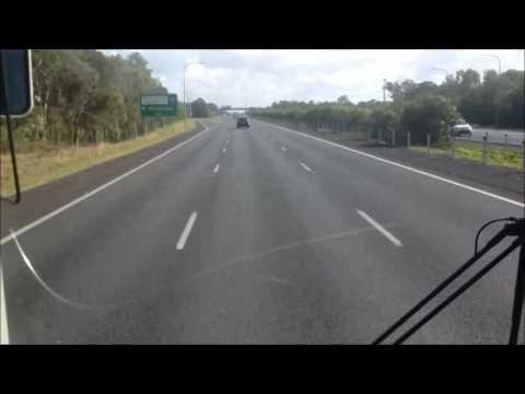 Brisbane Airport Bus Timelapse