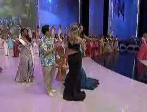 Miss World joy for Chinese graduate