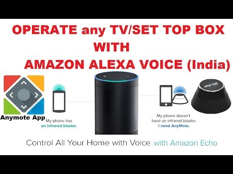 Operate any TV or Set Top Box with Alexa (India) - YouTube