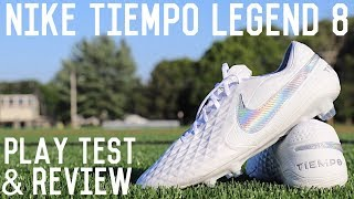Nike Tiempo Legend 8 Play Test and Review | Testing Out New Nike Football Boots