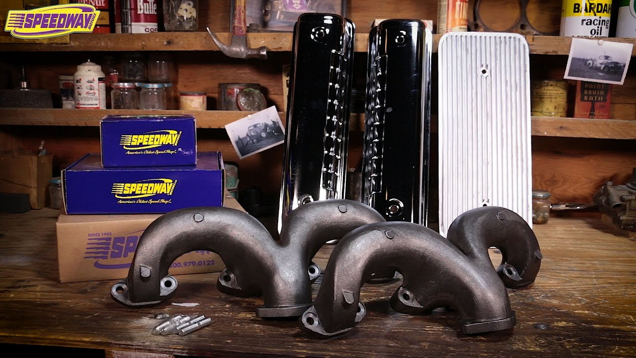 Speedway Tech Talk Ford Y Block Ram Manifolds And History Youtube