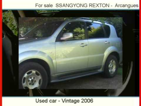 Sale one SSANGYONG REXTON  Arcangues