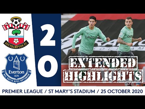EXTENDED HIGHLIGHTS: SOUTHAMPTON 2-0 EVERTON