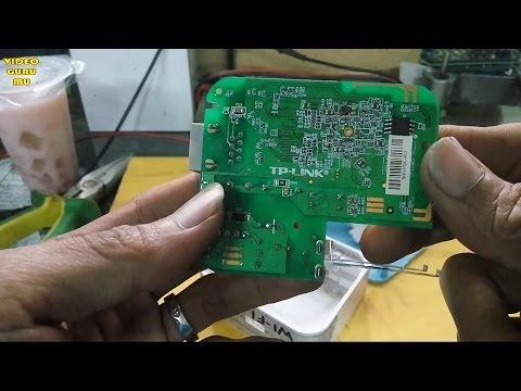 Cara Perbaiki TP-LINK WIFI Router TL-WR800N Rusak Mati Total