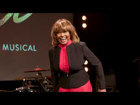 Tina the musical launch event in London Performance by Tina Turner