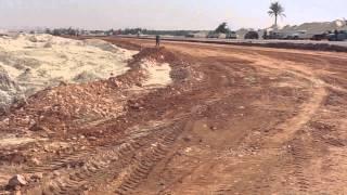 قناة السويس الجديدة : أسستخدام ناتج الحفر فى رصف طرق سيناء