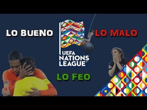 Lo bueno, lo malo y lo feo de la UEFA Nations League (RESUBIDO)