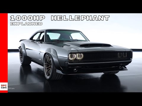 Dodge Charger With 1000HP Hellephant 426 Supercharged Crate HEMI Engine