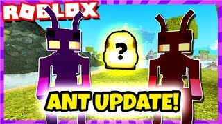 🐜 ANT PEOPLE 🐜 *NEW UPDATE* PVP, NEW HUGE CAVES! GOD BAGS?! (Roblox Booga Booga)
