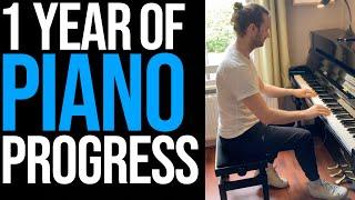 One Year of Piano Progress