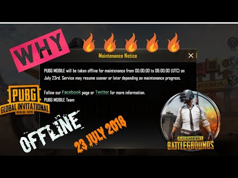 New Update Pubg Mobile Game Offline On 23 July 2018 Today Hindi