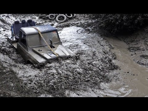 4x4 Aro Show 2019 - ARO  Water Crossing, Jump And Hillclimb