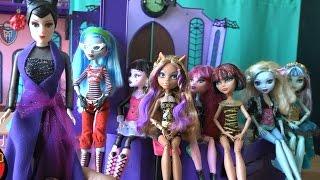 Игрушки для девочек, Школа монстров, серия 109, Малефисента отменила уроки