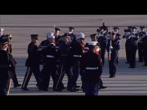 Estados Unidos despide con todos los honores a George Bush padre
