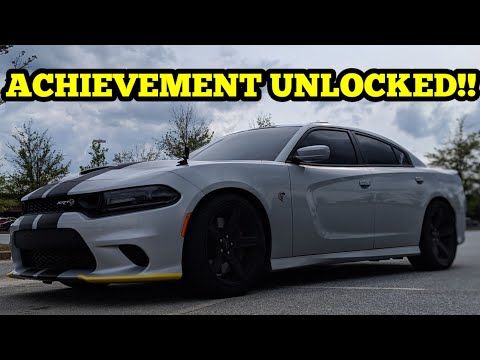 I DROVE THE 2019 CHARGER HELLCAT FOR THE FIRST TIME!!! MILESTONE ACHIEVED TODAY!!