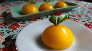 เค้กส้ม Orange Sponge Cake