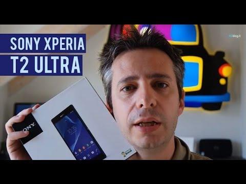 Sony Xperia T2 ultra la recensione di HDblog