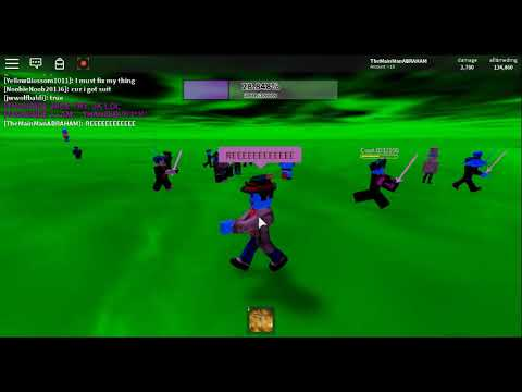 Playing Thanoid On Roblox