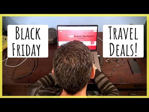 Top 5 Black Friday Travel-Related Deals for 2018 | Our Favorite Products & Services for Travelers