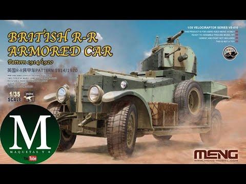 Download British R-R Armored Car (Meng-Model 1:35)