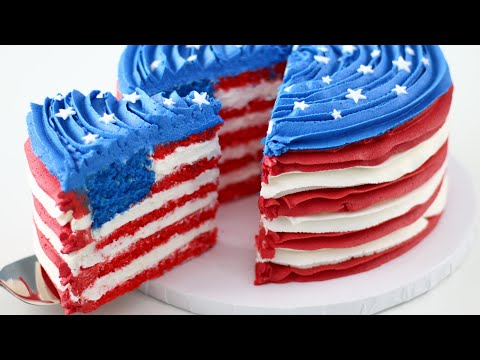 Randi West - This flag cake is INSANE