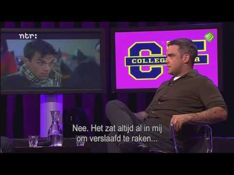 Robbie Williams interview on College Tour [HD]