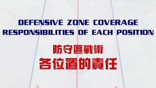 Ice Hockey Defensive Zone Coverage   Responsibilities of Each Position