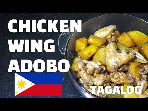 Chicken Wings Adobo – Tagalog Recipes – Filipino Recipes – Pinoy Food Youtube