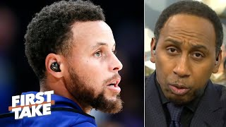 Steph Curry headlines Stephen A.'s list of the top 5 leaders in sports | First Take | First Take