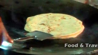 Chapati | Roti | Indian Bread | Indian Street Food
