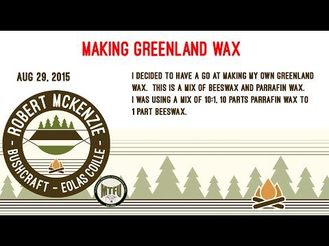 Making Greeland Wax