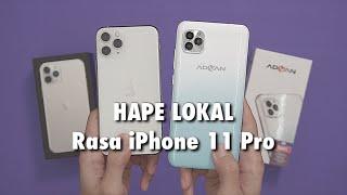 Review untuk Advan G5. Menurut kalian, mirip nggak sama iPhone 11 Pro? Dan worth it kah harganya bua.