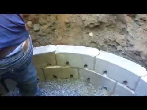Catch basin installed Residential backyard Biordiconcrete 7183576500
