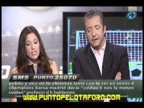 Josep Pedrerol - la noche más tensa de Punto Pelota