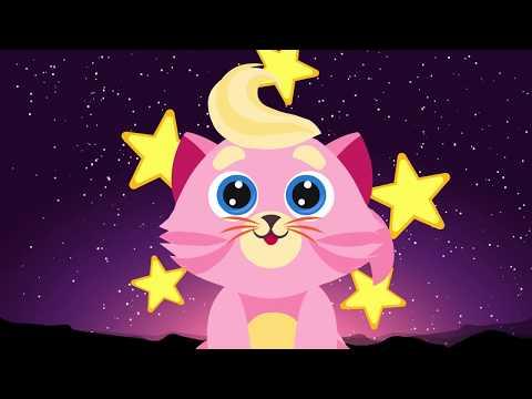 Розовый котёнок - Колыбельная песня для детей | Мультик | Детские песни | Учим вежливые слова | 0+