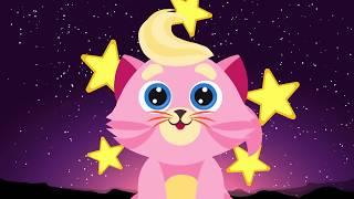 Розовый котёнок - Колыбельная песня для детей   Мультик   Детские песни   Учим вежливые слова   0+