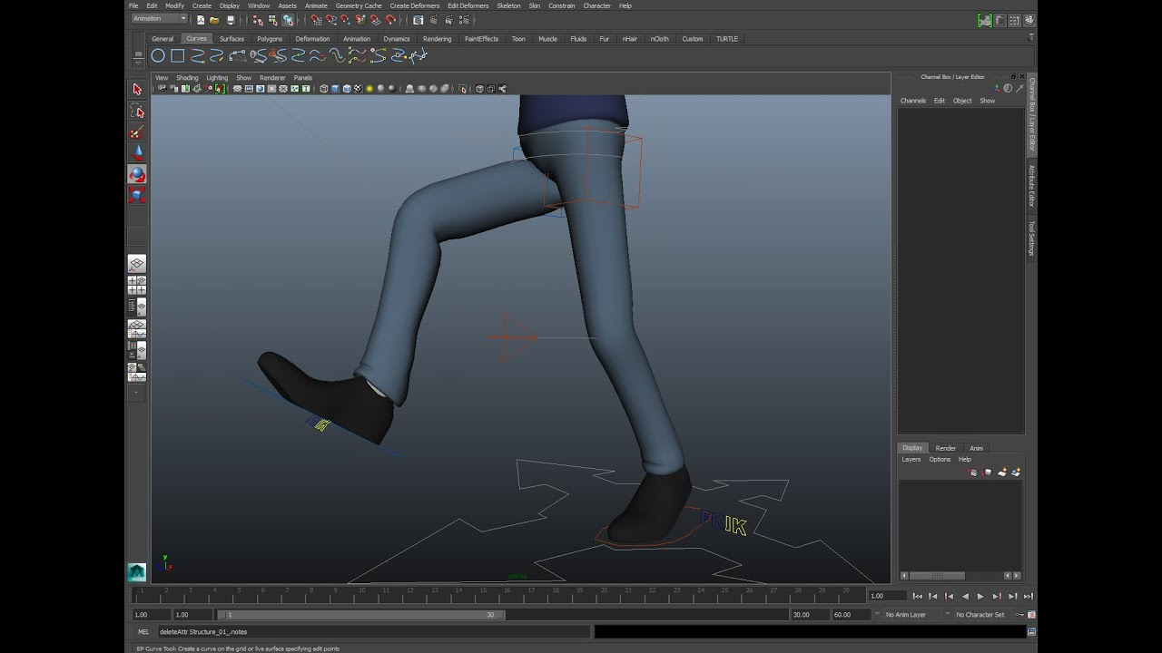 Tutorial: Rigging an IK Leg in Maya