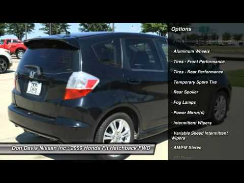 2009 Honda Fit Arlington Tx N39516a Don Davis Nissan