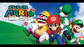 Super Mario 64 DS Live Stream Part 4 Finale