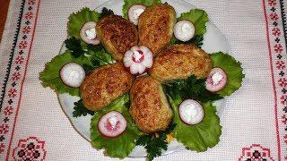 Котлеты из кальмаров \ Рецепт диетического блюда \ Блюда из нерыбных морепродуктов