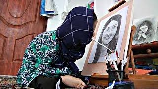 Юная афганская художница-инвалид мечтает о выставке в Канаде (новости)