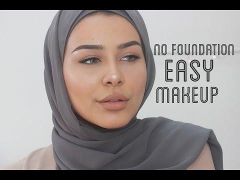 NO FOUNDATION Easy Makeup Tutorial