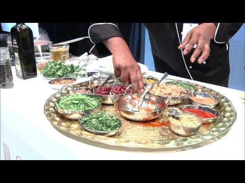 Sandren Govender and Erica Platter at Durban Good Food & Wine Show 2015