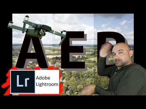 How to edit Stunning Drone AEB Images with Lightroom