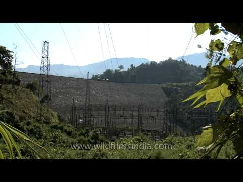 Doyang Hydroelectric power station in Wokha District, Nagaland