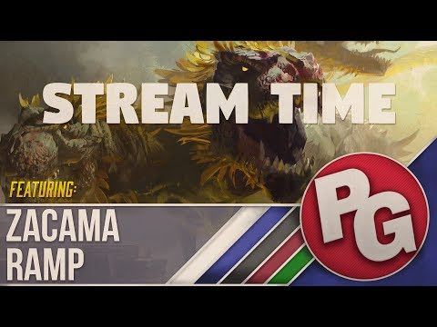 MTG Arena Gameplay with Zacama Ramp