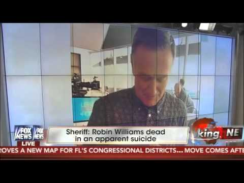 Fox News host calls Robin Williams 'such a coward' over alleged suicide