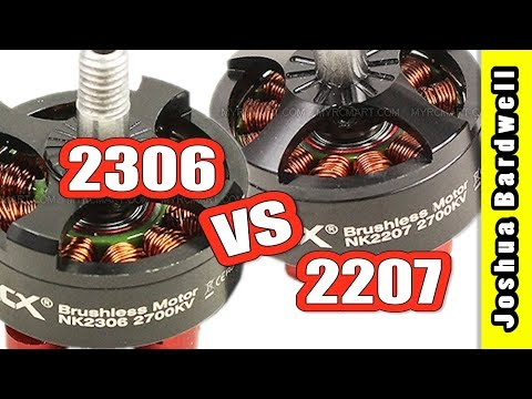 2306 vs 2207 Motor For FPV Mini Quad | WHICH IS BEST